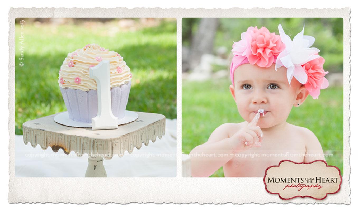 cake smash baby birthday