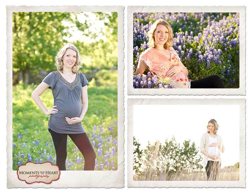 Maternity Texas Wildflowers