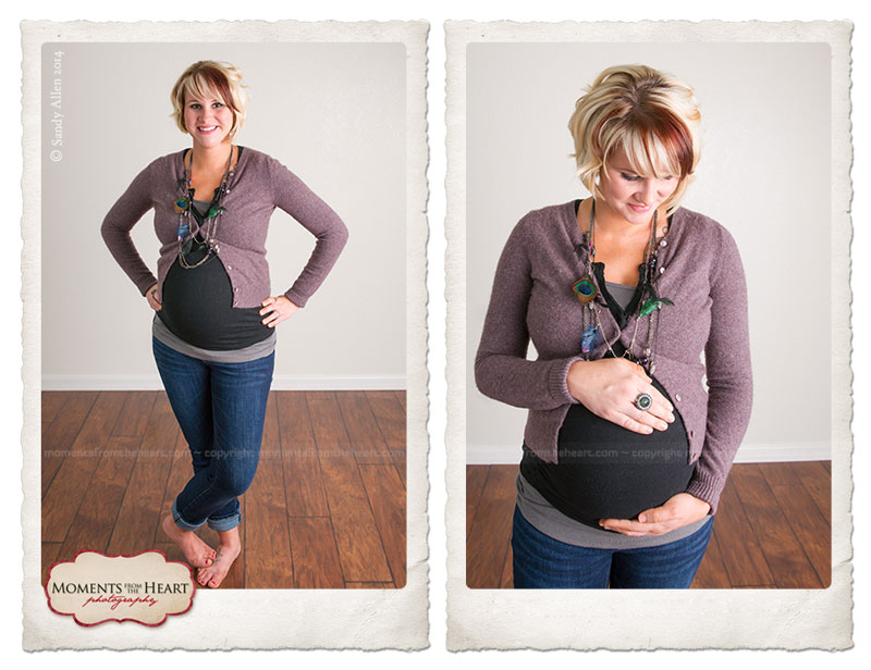Austin maternity photo - beauty behind the belly