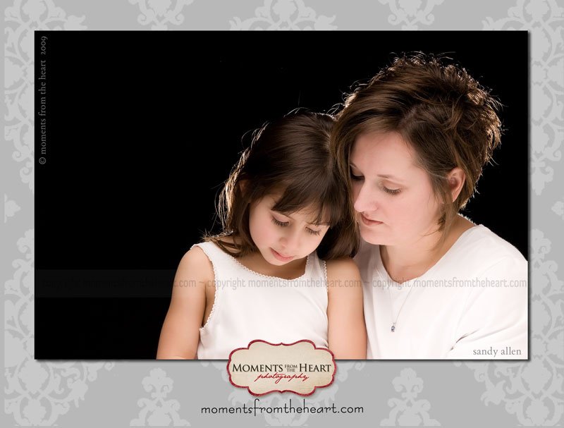 austin professional portrait mother daughter