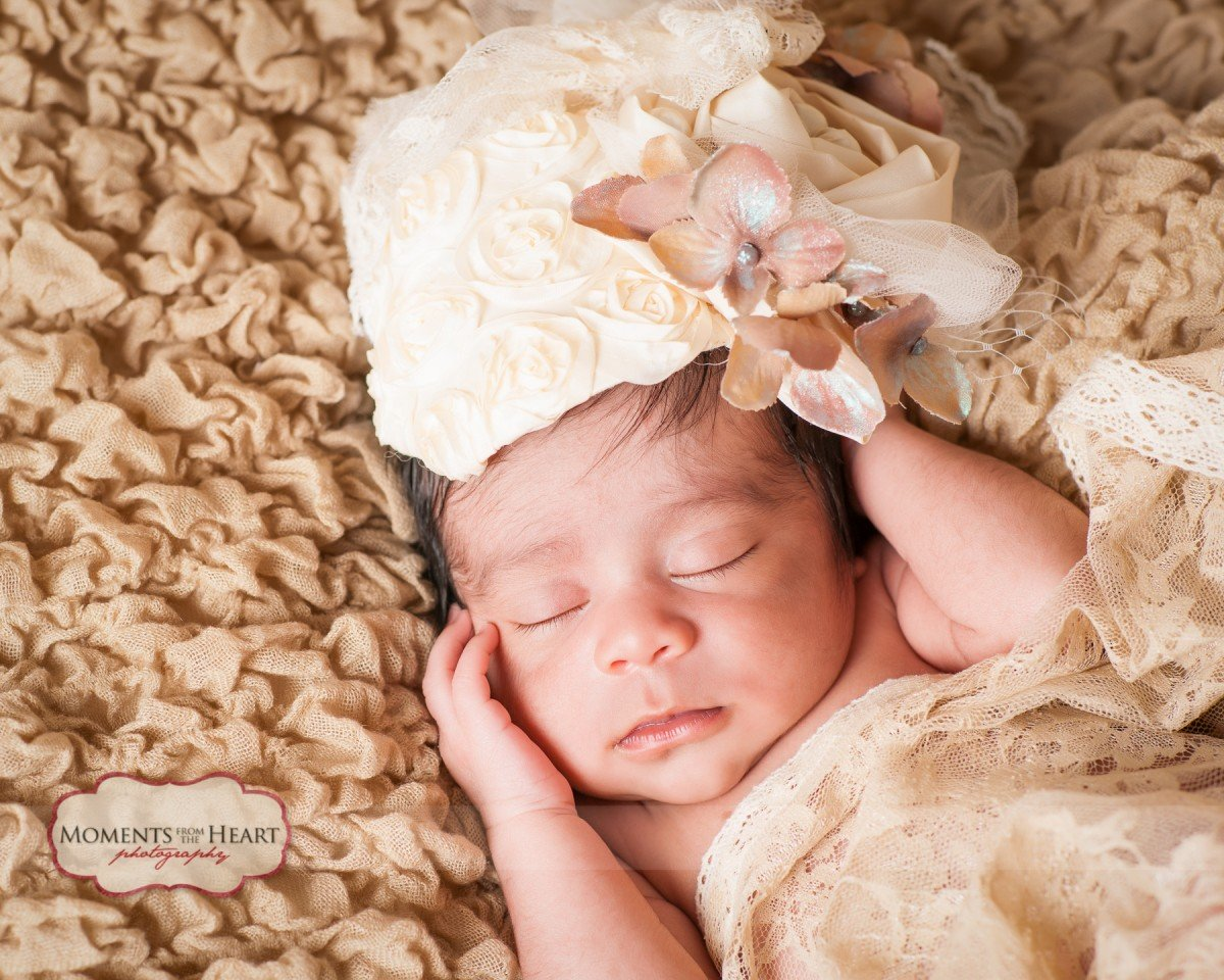 newborn church hat