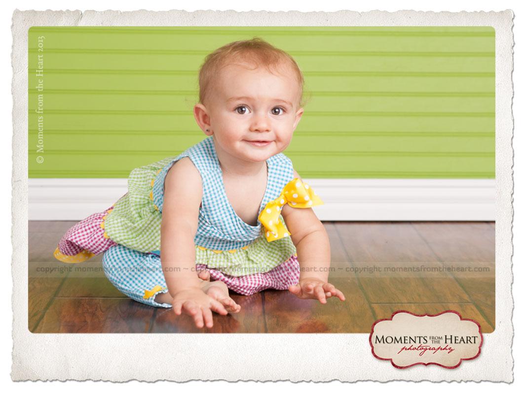 First Birthday Celebration baby photographer