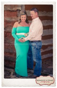 outdoor maternity cowboy western couple