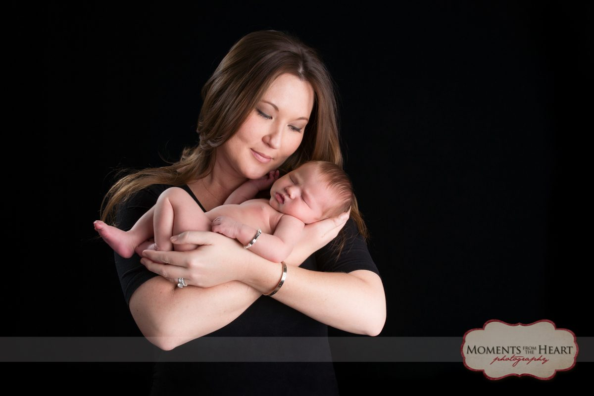 Newborn Baby and mother photography