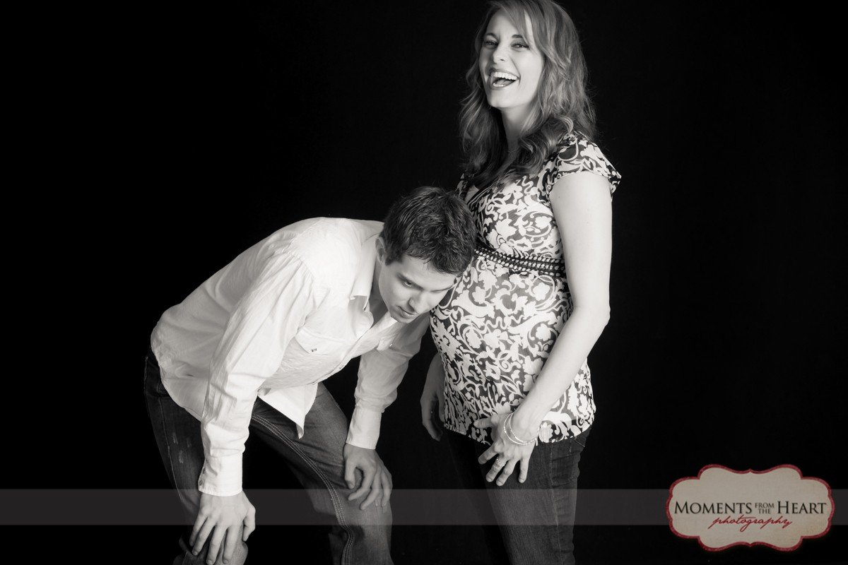 austin maternity couple